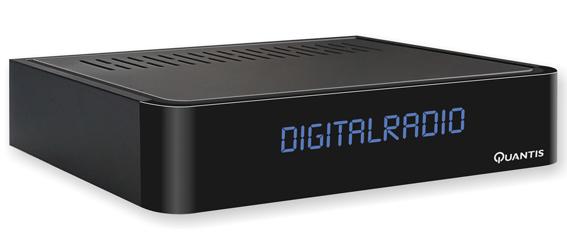 Quantis QE 317 DVB-C radiotuner